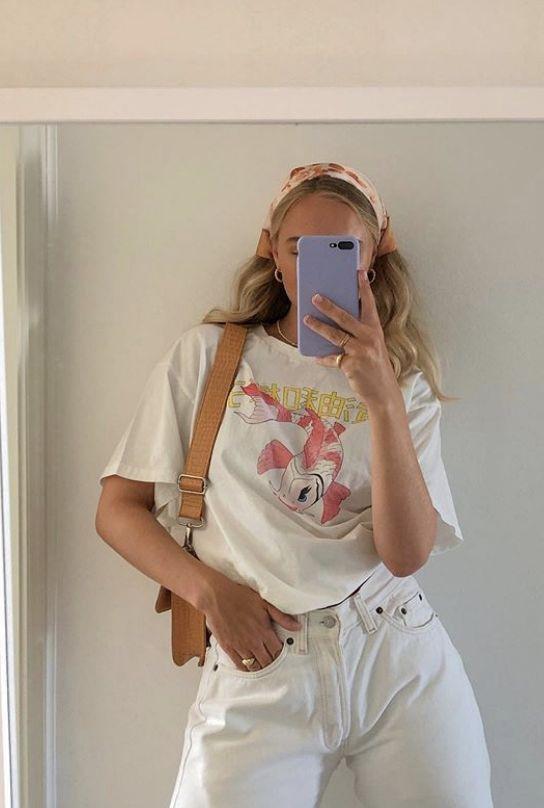 Джинсы и футболка 2