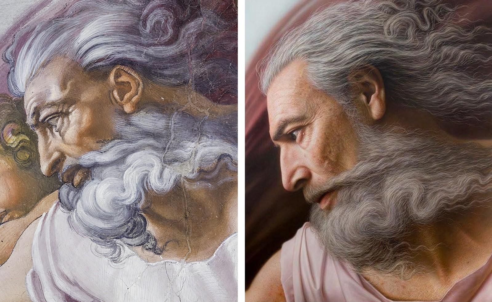 Художник показал, как выглядели бы легендарные персонажи с известных картин и скульптур в реальной жизни