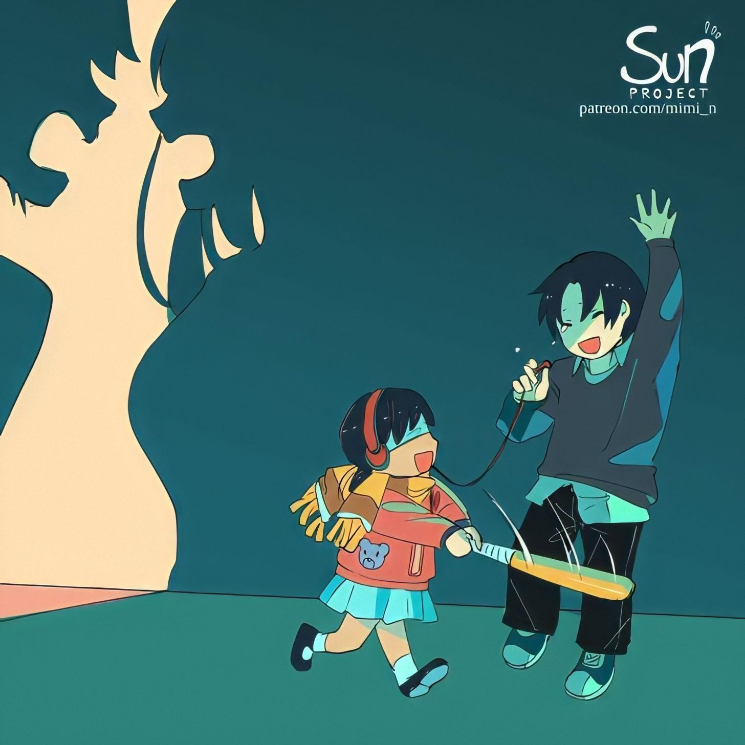 20+ иллюстраций от аниме-художницы, которые показывают, что у каждого из нас есть тёмная сторона души