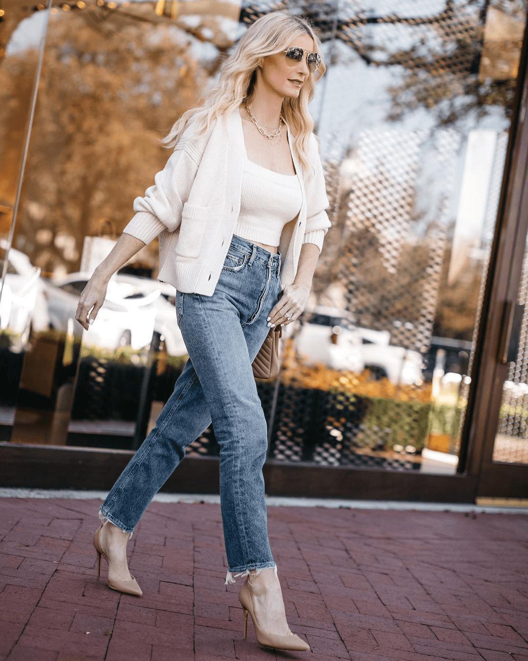 Идеально сидящие джинсы