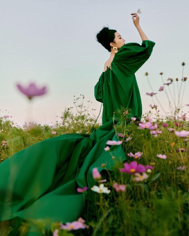 Цвет природного начала и равновесия: как правильно носить зелёный