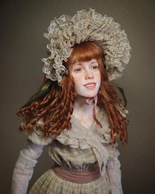 Скульптор создаёт невероятно реалистичные куклы, которые словно из другой эпохи: утончённые и загадочные