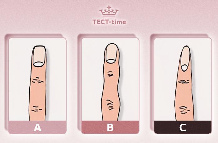 тест ногти