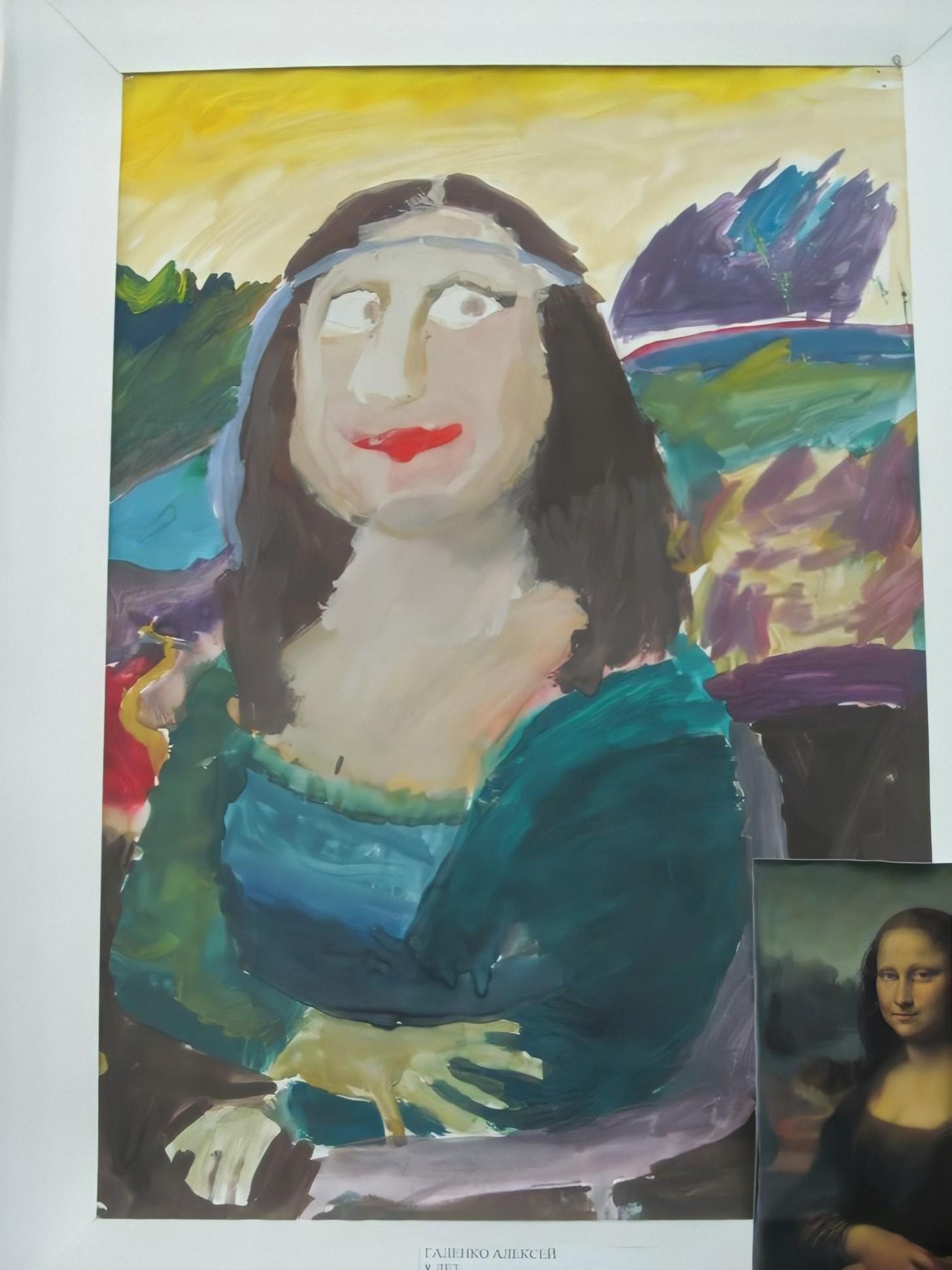 Эксперимент удался: школьники воссоздали картины знаменитых художников