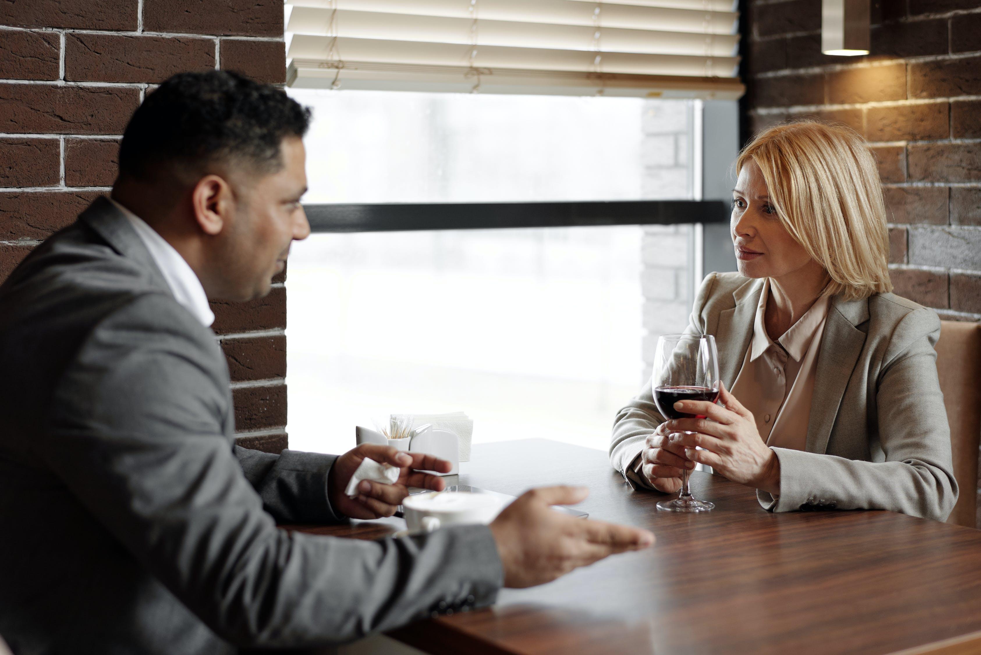разговор в паре