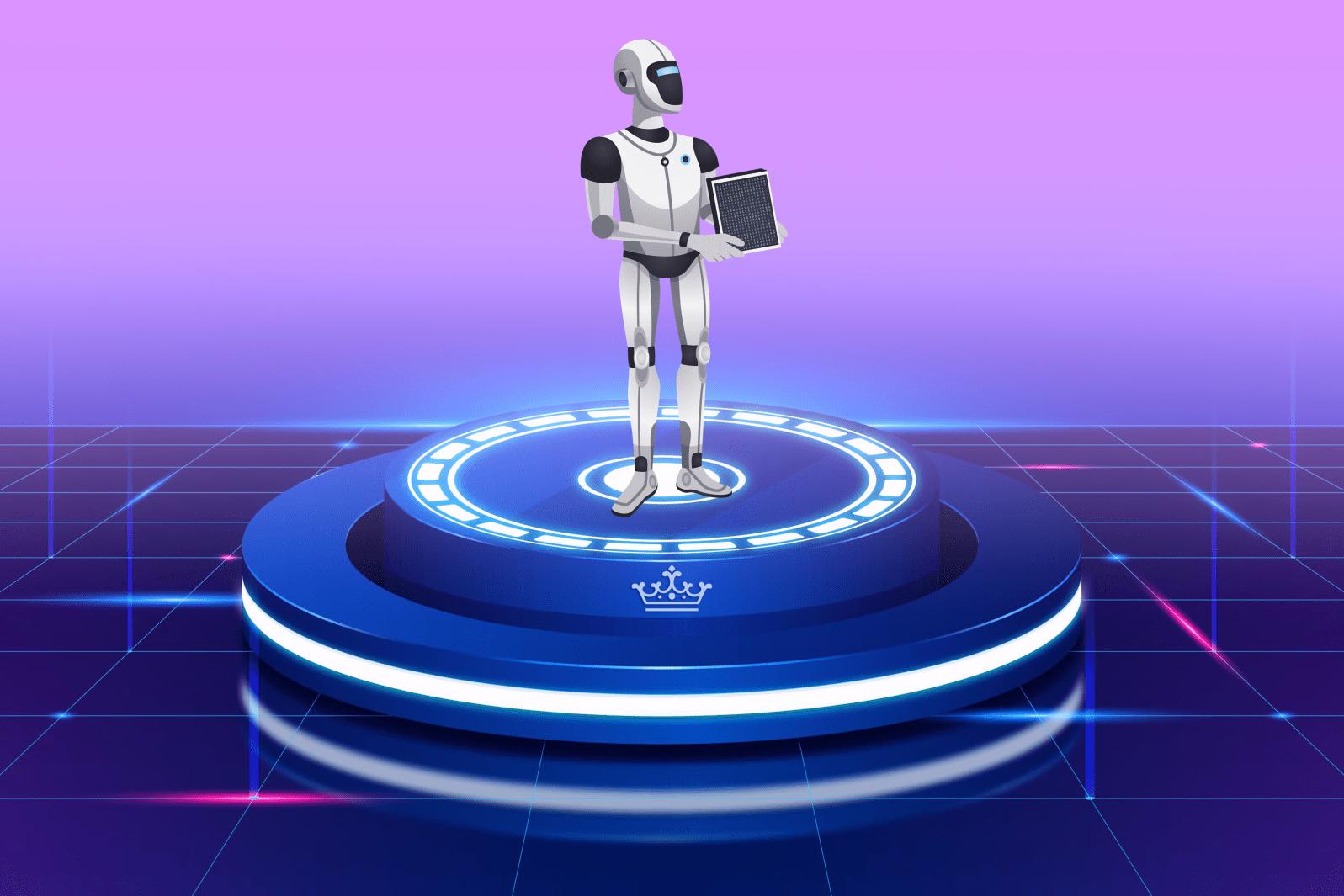 Футуристический сценарий от Colady: в ближайшем будущем роботы смогут вытеснить людей в различных сферах