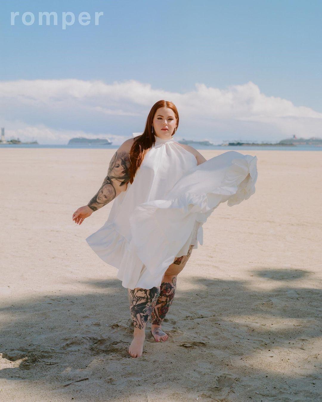 «Люди ценят естественность»: как plus-size модель Тесс Холлидей заставила весь мир говорить о бодипозитиве