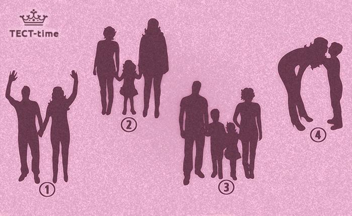 тест семья