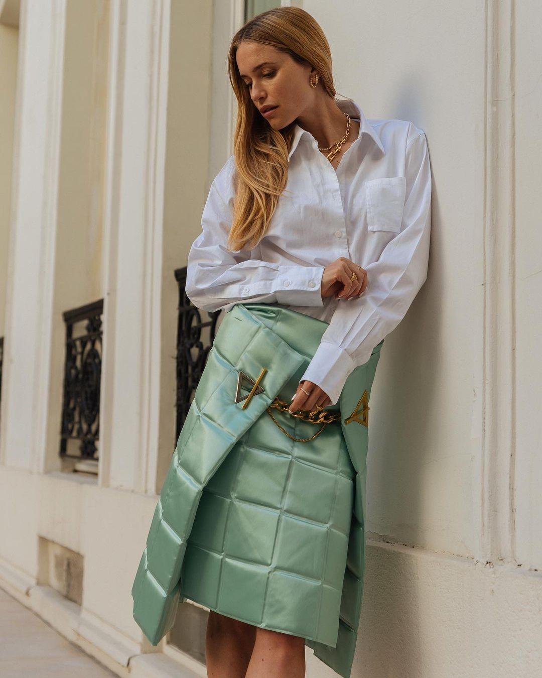 Стёганные юбки