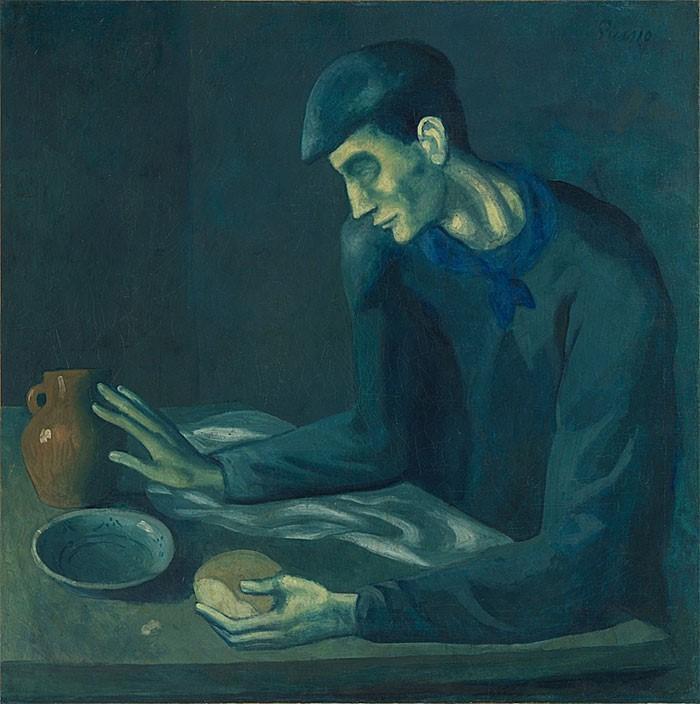 Изображение обнажённой женщины было найдено под картиной Пикассо «Завтрак слепого»