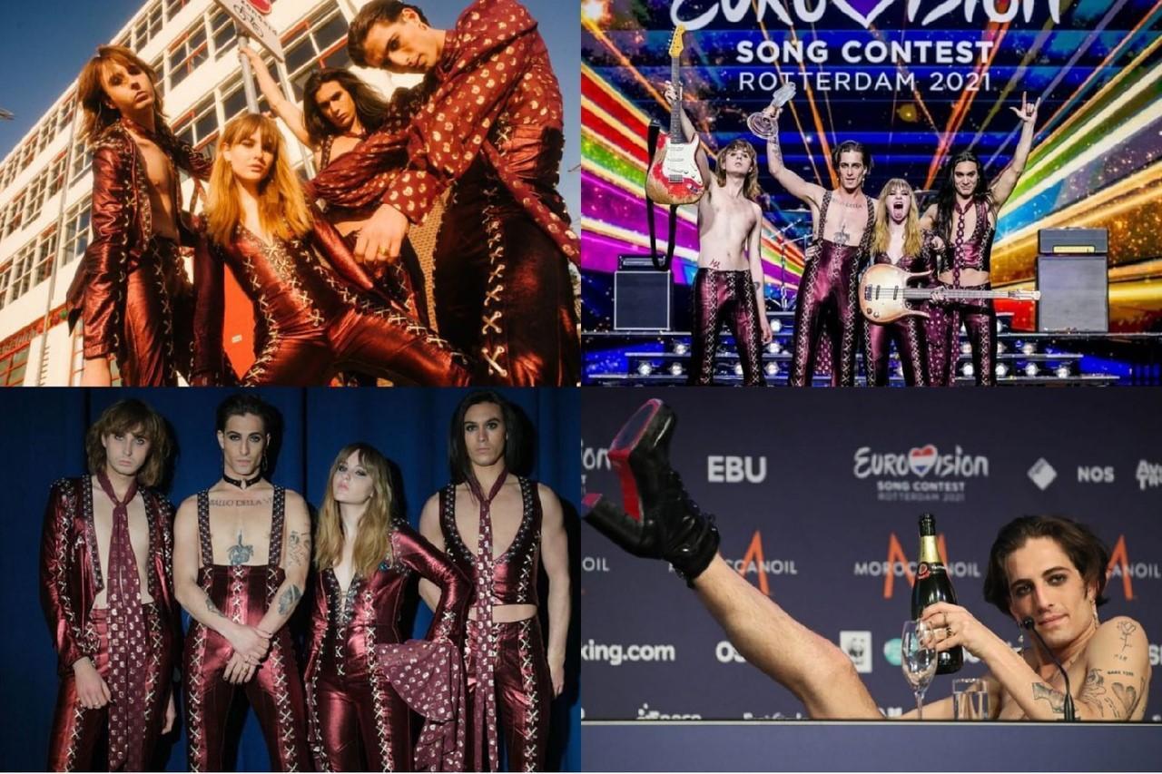 Рюши, кожа и гипюр: 10 вещей из масс-маркета в стиле группы-победителя Евровидения Måneskin